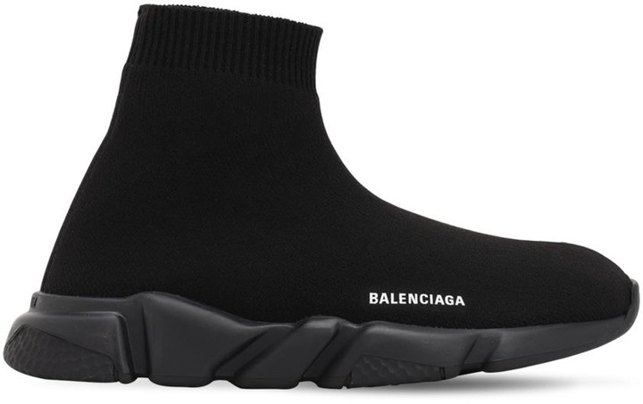 Balenciaga Speed Knit Slip-on Sneakers