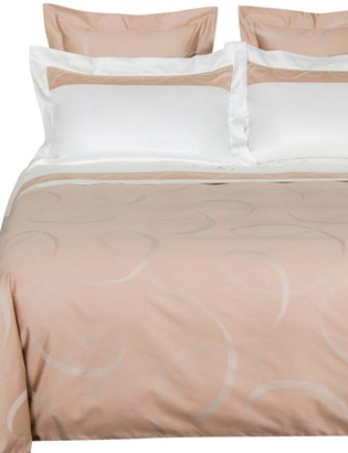 Frette Ribbons Arredo 460 Thread Count Cotton Sateen Duvet Cover
