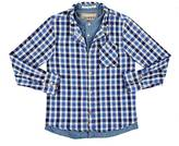 Scotch Shrunk COTTON FLANNEL & CHAMBRAY BUTTON-FRONT SHIRT