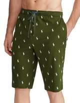 Polo Ralph Lauren Trademark Print Cotton Pajama Shorts