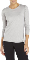 New Balance Heathered Performance Long Sleeve Tee