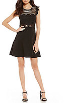 Gianni Bini Carmen Bandeau A-Line Dress