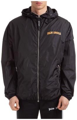 Palm Angels Logo Hooded Jacket