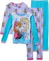 Disney Disney's Frozen Anna & Elsa Girls 4-10 4-pc. Moments Pajama Set