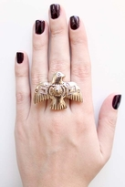 Low Luv x Erin Wasson by Erin Wasson Thunderbird Ring in Gold
