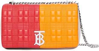 Burberry Small Two-Tone Quilted Shoulder Bag
