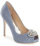 Badgley Mischka Women's 'Desi' Peep Toe Platform Pump