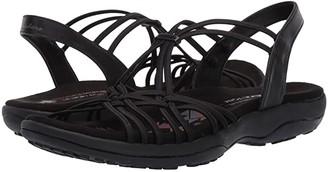Skechers Reggae Slim - Slip Spliced (Black) Women's Sandals