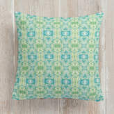 Minted Merging Watercolors Self-Launch Square Pillows