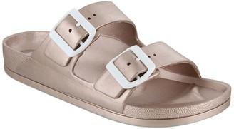 Mia Jasmin Dual Buckle Footbed Sandal