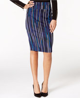 Thalia Sodi Printed Scuba Pencil Skirt, Only at Macy's