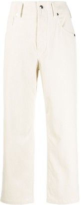 Sofie D'hoore Pollock cropped straight-leg trousers