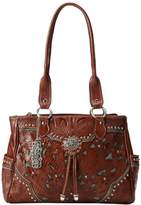 American West Lady Lace Multi Compartment Shoulder Bag,