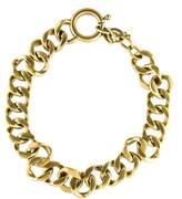 Saint Laurent Curb Chain Link Necklace