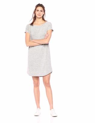 Daily Ritual Amazon Brand Women's Cozy Knit Dolman-Sleeve Boat-Neck Dress