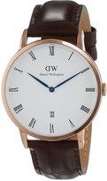 Daniel Wellington Men's Dapper 1102DW Leather Quartz Watch