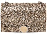Jimmy Choo Finley Glitter Leather Shoulder Bag