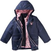 Osh Kosh Girls 4-8 Heart Reversible Systems Jacket