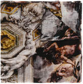 Faliero Sarti frayed edges scarf