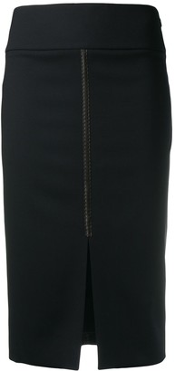 Tom Ford Front Slit Pencil Skirt