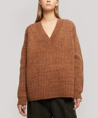 Acne Studios Keborah Wool V-Neck Sweater