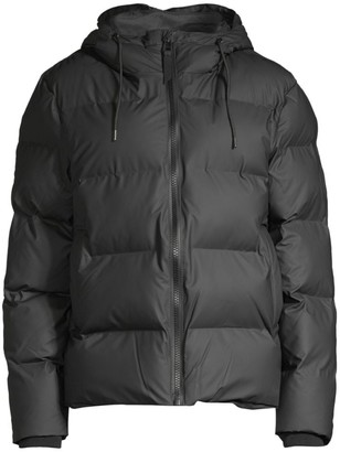 Rains Hooded Puffer Jacket