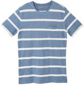 MANGO Men's Striped Cotton Piquã T-Shirt