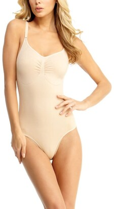 Express Slimme By Memoi Thong Bodysuit