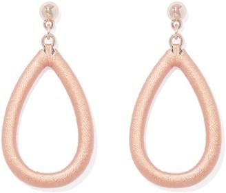 Ever New Alessia Cotton Wrap Teardrop Earrings