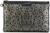 Jimmy Choo Derek star-embellished clutch