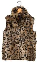 Surell Girls' Printed Vest w/ Tags