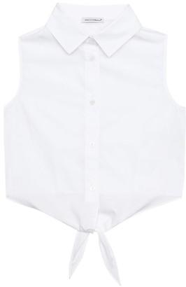 Dolce & Gabbana Cotton-poplin top