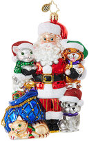 Christopher Radko Paws for Claus Ornament
