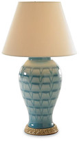 Bunny Williams Home Ceramic Table Lamp - Turquoise
