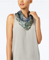 Echo Medallion Diamond Silk Scarf