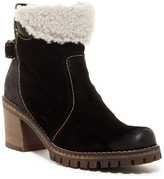 Manas Design Faux Fur Trim Boot