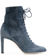 Jimmy Choo Daize 85 boots - women - Leather/Suede - 37