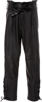 Marissa Webb Kitana Cropped Leather Pants