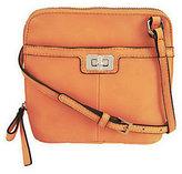 B. Makowsky As Is Glove Leather Zip Around Mini Crossbody Bag