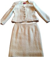 Valentino Garavani White Wool Dress for Women Vintage