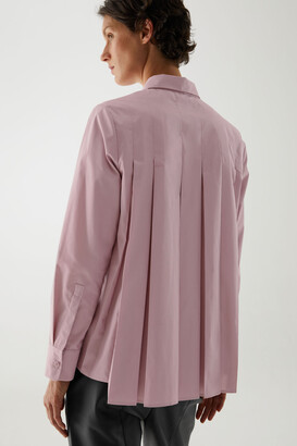 Cos Cotton Pleated Tunic Shirt