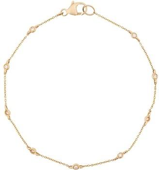 Dana Rebecca Designs 14kt yellow gold Lulu Jack single bezel set diamond bracelet