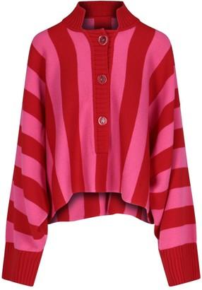 ATTICO Striped Knit Sweater