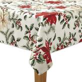 The Big One Poinsettia Print Tablecloth