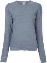 James Perse classic sweatshirt - women - Cotton - 0