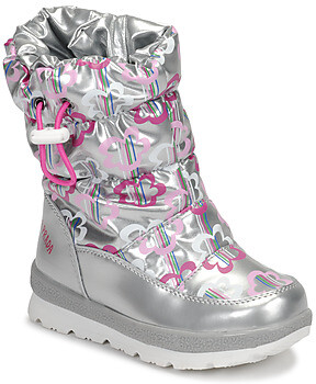 Agatha Ruiz De La Prada APRESKI girls's Snow boots in Silver