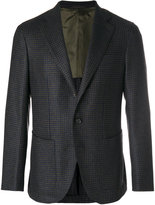 Caruso gingham blazer - men - Cupro/Cashmere/Wool/Bemberg - 50