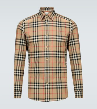 Burberry Caxton checked cotton shirt