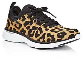 APL Athletic Propulsion Labs Women's TechLoom Phantom Printed Calf Hair Lace Up Sneakers