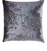 Aviva Stanoff Calcite-Print Velvet Pillow